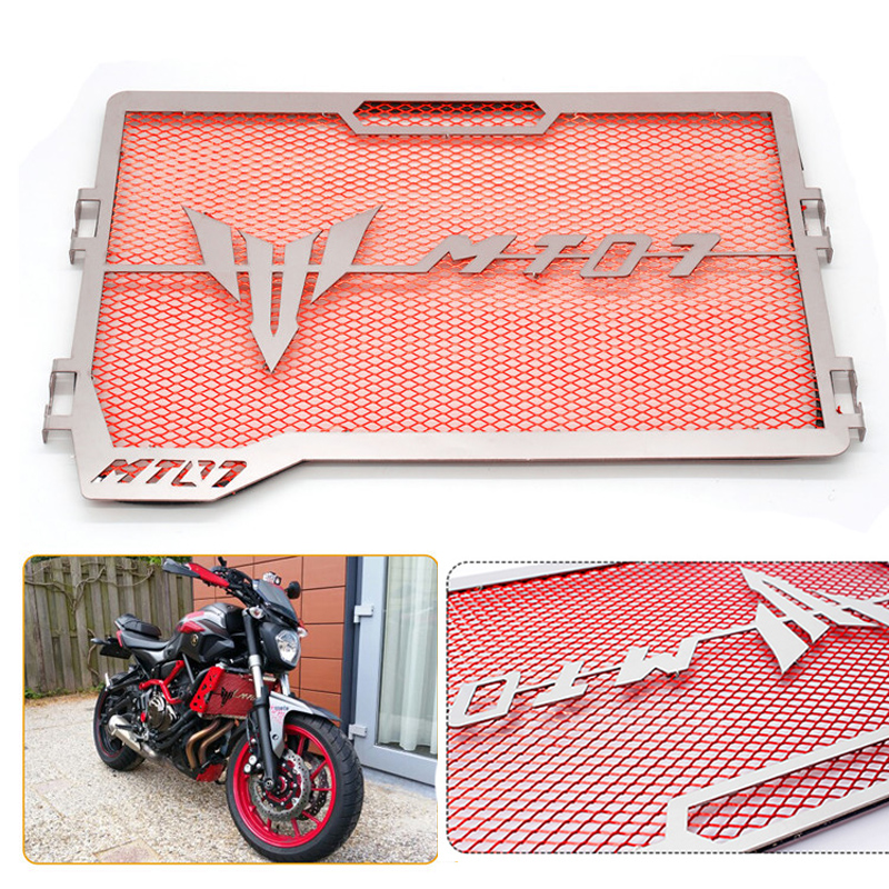 Motorcycle accessories Engine Radiator Grillel Protector Grill Guard Cover Protection Case For Yamaha MT07 MT-07 MT 07 2014-2016<br>