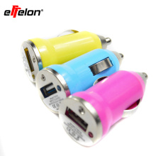 Effelon single colorful USB Car Charger Adapter For iPhone 5 4 4S for iPad Mini for Galaxy S3 S4 i9500 all Cell Phone