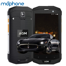 AGM A8 IP68 Smartphone 4G 5.0inch Qualcomm MSM8916 Quad Core 3GB+32GB 2.0MP+13.0MP Cameras 4050mAh Dual SIM Mobile Phone