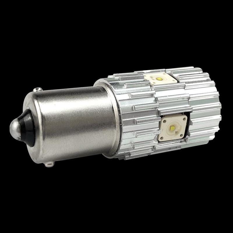 CNSUNNYLIGHT 2pcs 1156 LED BA15S P21W BAU15S PY21W S25 5Osram Chips 6000K White DRL Car Tail Fog Bulbs Brake Light Reverse Lamp (3)