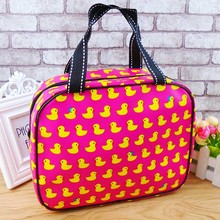 waterproof Cosmetic Bag Makeup Cases Pouch Toiletry Storage Organizer Travel Fitness Necessarie Bathroom handbag F17