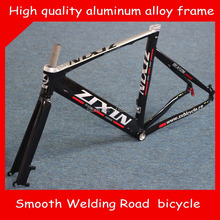 2015 Top Quality 700C*52CM Smooth Welding Track Bike Road leisure bicycle Cycling Track Frame Road bike free shipping(China)