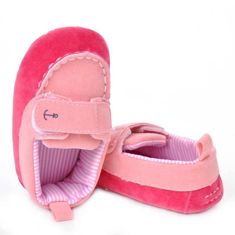 17 Fashion Newborn Baby Girl Boy Shoes Soft Sole Infantil Toddler Baby Boy Sneakers Blue Baby Mocassins Crib Peas Flock Shoes 15