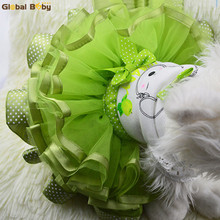 New Arrival 100% Cotton Cool Soft Wild Fruit Skirt Pet Dog Puppy Dresses(China)