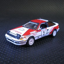 1:43 Toyota Celica GT-Four Rally Edition boutique alloy car toys for children kids toys Model Original box(China)