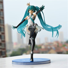Anime Figures Fate Stay Night Hatsune Miku Action Figure Sexy Girl Wonder Woman Adult Oyuncak Toys For Boys Plastic Japan 70P064(China)