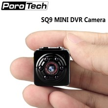 Upgraded SQ9 Mini Micro Camera HD 1080P 360 Degree Rotation Mini DV DVR Camera Camcorder IR Night Vision Audio Video recorder(China)