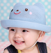 brand Toddler Infant Sun Cap Summer Outdoor Baby Girl Beach Bucket Hats Straw 4 Colors 4-6 months The new listing