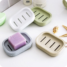 Double-layer Soap Box Toilet Drainage Rack Creative Travel Portable Soap Care Soap Rack