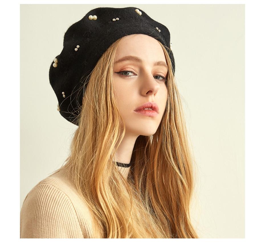 قبعة صوف محبوكة 10
