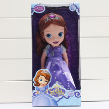 "12""30cm New Arrival Sofia the first Princess Doll for Girl with box(China)"