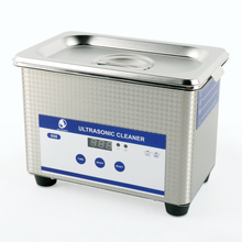Skymen Digital Ultrasonic Cleaner Bath Ultrasound Machine Washing Glassess Brushes Teeth Watches CD Touch Control Timer 800ml(China)