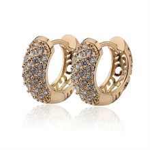 Buy 2017 Gold-Color CC Hoop Earrings Bijoux Women Brand Earring Jewelry Brinco Ouro Pendientes Fashion Free E18K-49 for $2.95 in AliExpress store