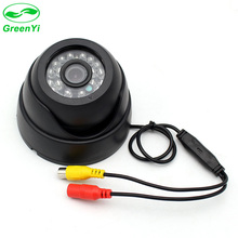 GreenYi Closed Circuit Television Monitoring Camera for Bus Truck LED IR Infared Indoor Security CCTV Dome Camera(China)
