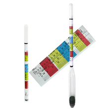 New Arrival 3 Triple Scale Hydrometer For Home brew Wine Beer Cider Alcohol Testing Triple Scale hydrometer High quality