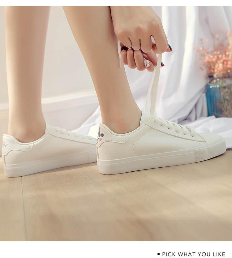 حذاء نساء لون ابيض 18