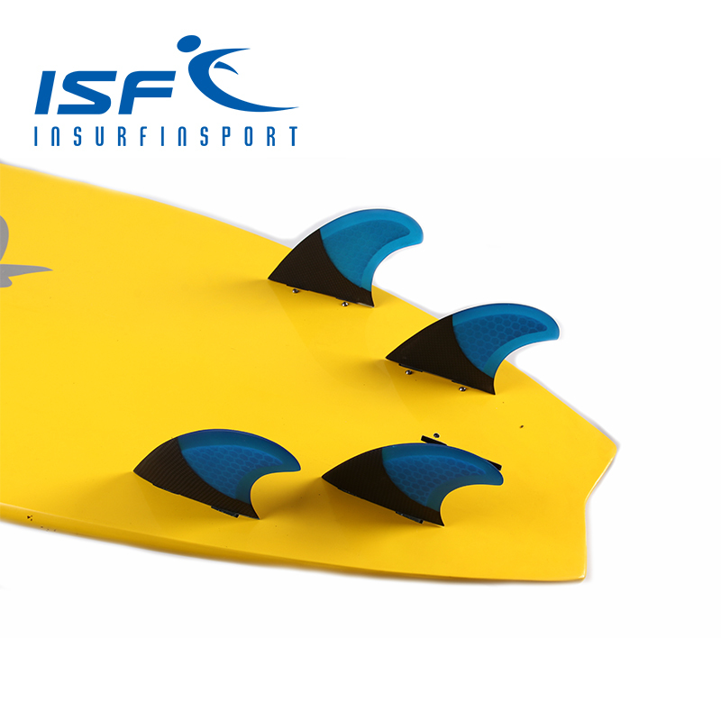 FCS Quad Carbonfiber Surfboard fins Paddle Board Four Fins/Surf fin<br>