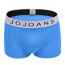JOJOANS Mens Boxer Shorts 2017 Cotton Boxers Sky Men's Underwear Underpants Calzoncillos Cuecas Sexy U Conyex Shorts L-6xl(China)