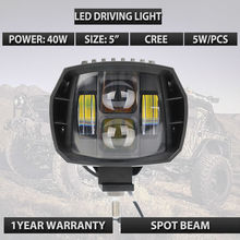 40W led headlight 5w 5inch New Led Driving Light 2016 newest led fog light used for car truck suv atv marine