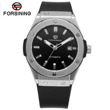 New 2017 Forsining Fashion Montre Homme Army Watch Men Auto Mechanical Day Watches Sport Wristwatch  Free Ship