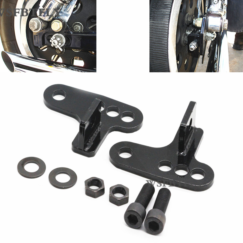 Motorcycle Rear Adjustable Slam LOWERING KIT Blocks 1 - 3 inches 1 2 3 For Harley SPORTSTER  XL883 XL1200 2000-UP 01 02 03 04<br>