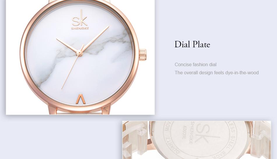 ساعة نسائية حزام جلد أنثى كوارتز الوان جميلة 16