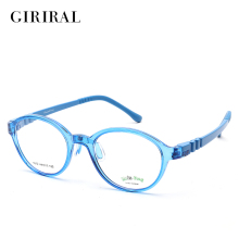 Children TR90 eyeglasses frame round optical clear brand myopia designer eyewear frame #ERT1012(China)
