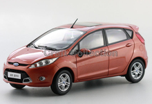 Red 1:18 Ford  FIESTA  2011 HatchbackKids Classic toys Mini Car Brinquedos Model Car Kits