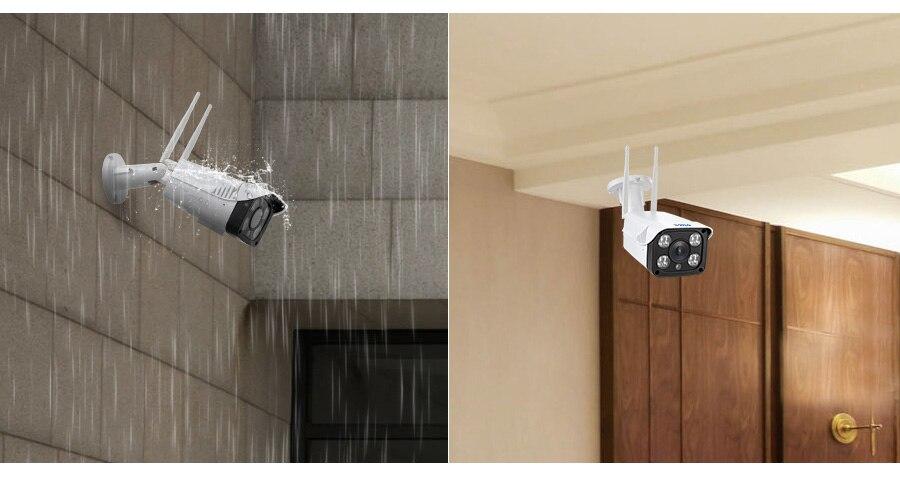 KERUI Full HD 1080P Waterproof WiFi IP Camera Surveillance Outdoor Camera Security Night Vision Cloud Storage CCTV Camera Sadoun Sales International