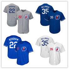 Men's Los Angeles 22 Kershaw 35 Bellinger Baseball Jersey Embroidery Stitched Quality White Home Royal Alternate(China)