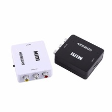 Digital HDMI to RCA Composite Video Audio AV CVBS Adapter Converter 720p/1080p HDMI2AV