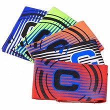 Multi Color High Quality Professional Football Captain Armband Game Competition Soccer Arm Band Leader(China)