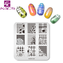 KADS New Arrival 1 PC Pretty Good Nail Art Print Stamping Plates Nail Template Beauty Stencil Manicure DIY Styling Tools(China)