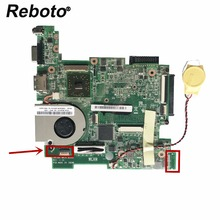 Reboto High quality For Asus 1015BX Laptop motherboard mainboard 1015BX MAIN BOARD REV:1.1G With Radiator fan 100% Tested(China)