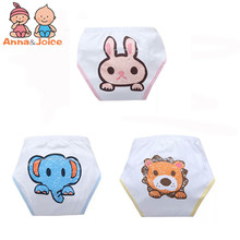 10 pcs/lot Baby bolsas Washable Diapers/100% Cotton diapers/cloth diaper/Training Pants baby diapers trx0003(China)