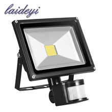 85V 265V 20W led flood light PIR floodlightmotion sensor IP65 waterproof Floodlight illumination led flood outdoor LED spotlight(China)