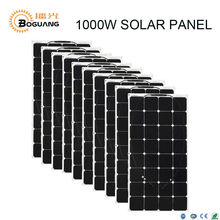 Boguang 1000W solar panels 10X 100W flexible Sunpower module for led light car kits(China)