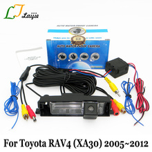 Laijie Rear View Camera For Toyota RAV4 RAV-4 RAV 4 2005~2012 (Spare Wheel On Door ) / HD CCD Night Vision Auto Backup Camera
