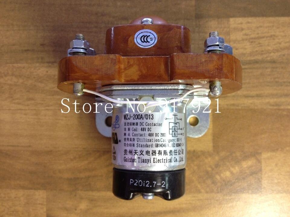 [ZOB] Guizhou Tianyi new MZJ-200A/013 DC contactor relay DC48V200A genuine original  --5pcs/lot<br>
