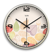 Large Decorative Wall Clocks Home Decor Living Room Reloj Pared Cocina Silent Big Wall Watch Clock Modern Design DDN472(China)