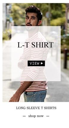 SIMWOOD 2018 Automne À Manches Longues T-shirt Hommes 100% Pur Coton Slim Fit Drôle de Mode De Poche Tops Haute Qualité TC017004 12
