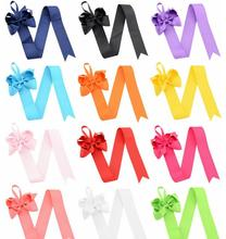 100pcs Free shipping Hair Clip Storage Frame Bow Organizer Simple Ways to Organize Your Hair Accessories(China)