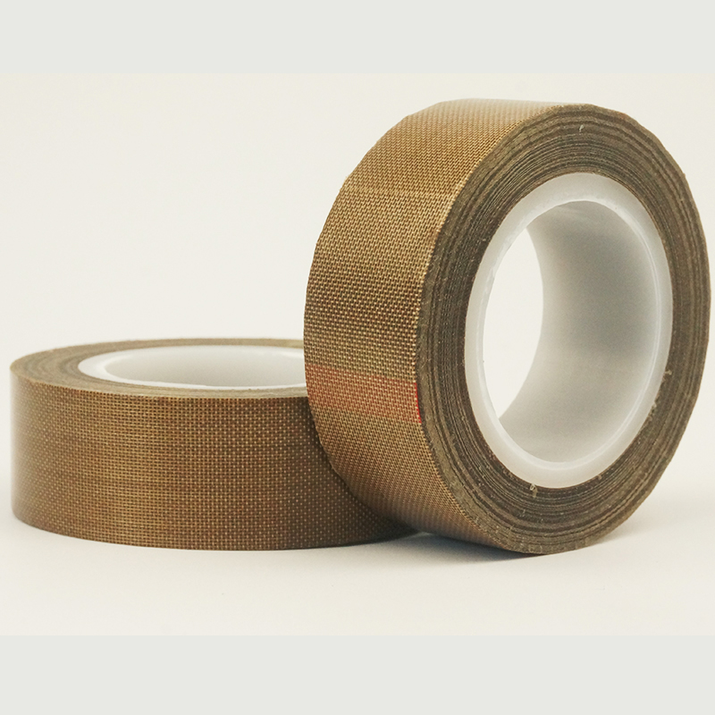 0.13mm thickness x 66M High Temperature PTFE Teflon Tape Withstand Insulation Self Adhesive for LCD, Vacuum Sealer 2
