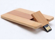 Best gift business wooden card USB 2.0 Flash Memory Stick Pen Thumb Drive 4GB 50pcs/lot free logo