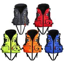 5 Colors Swimming Life Jacket Outdoor Vest Fishing Vest Life Vest Adult Drifting Boating Survival Safety Jacket Water(China)