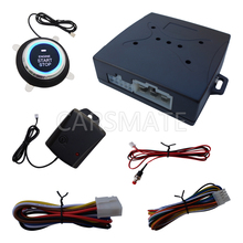 New Upgrade One Way Car Security Alarm System Engine Start Stop With Shock Sensor & Emergency Release Switch