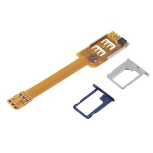 New Mobile Phone Double Dual SIM Card Adapter Use Two SIM for Samsung Galaxy Wholesale(China)