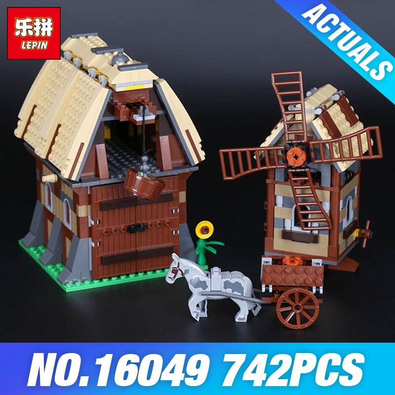 Lepin 16049 The Mill Village Raid Set Genuine 1010Pcs Creative Series7189 Building Blocks Bricks Educational Toys DIY Gift Model<br>
