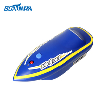 JABO cooperated Blue Mini high speed carp rc boat electric remote rc fishing bait boat