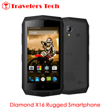 Rugtel X16 Wireless Charging IP68 Waterproof Rugged Smartphone 4.5 Inch 64Bit Quad Core 2GB RAM 16GB ROM SOS NFC PTT Function